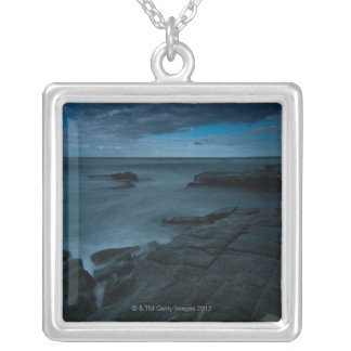 Garie Beach in the Royal National Park Silver Plated Necklace
