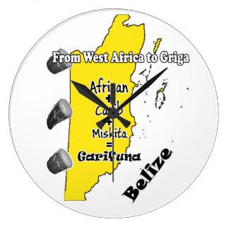 Garifuna Settlement Day clock