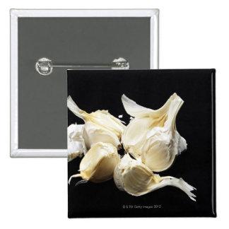 Garlic 15 Cm Square Badge