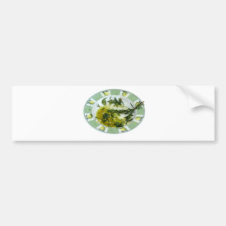 Garlic and herb infused olive oil bumper sticker