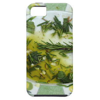 Garlic and herb infused olive oil iPhone 5 covers