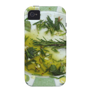 Garlic and herb infused olive oil iPhone 4/4S cases