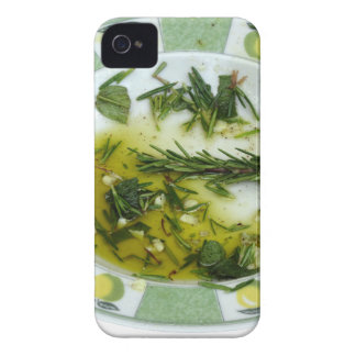 Garlic and herb infused olive oil iPhone 4 case