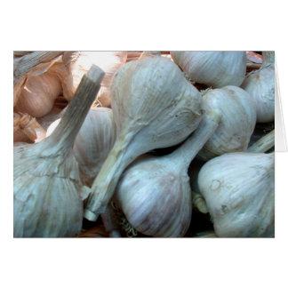 Garlic Blank Card