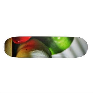 Garlic Bulbs Limes Chillies Peppers Chili Skate Board Decks