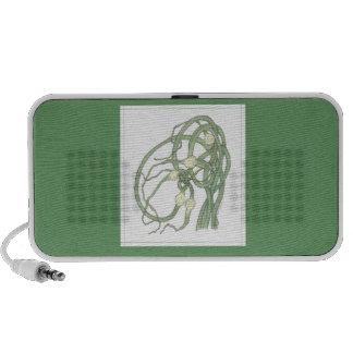 Garlic Scapes (Allium sativa) Notebook Speakers