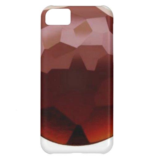 Garnet 01, January, Birthstone iPhone 5C Covers