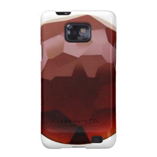 Garnet 01, January, Birthstone Samsung Galaxy SII Cases