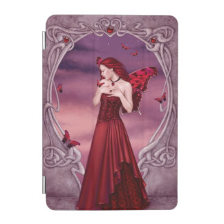 Garnet Birthstone Fairy iPad Mini Cover