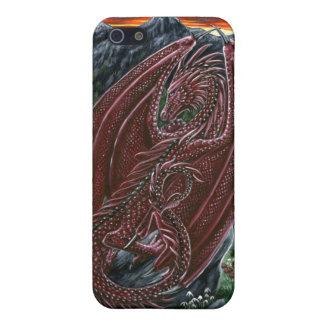 Garnet Dragon iPhone 5/5S Case