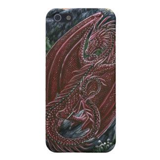 Garnet Dragon iPhone 5/5S Cases