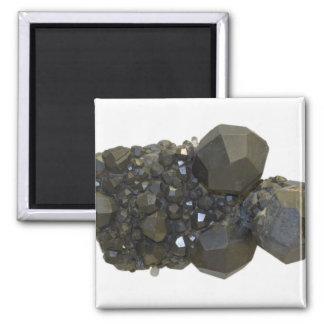 Garnet in Natural Form Magnet