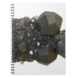 Garnet in Natural Form Notebooks
