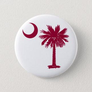 Garnet Palmetto 6 Cm Round Badge