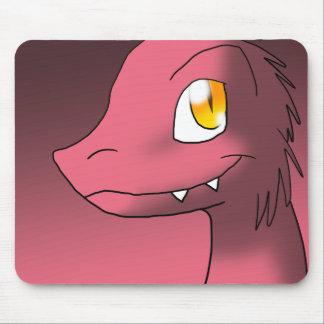 Garnet-Ruby-Tint Microraptor Mouse Pad