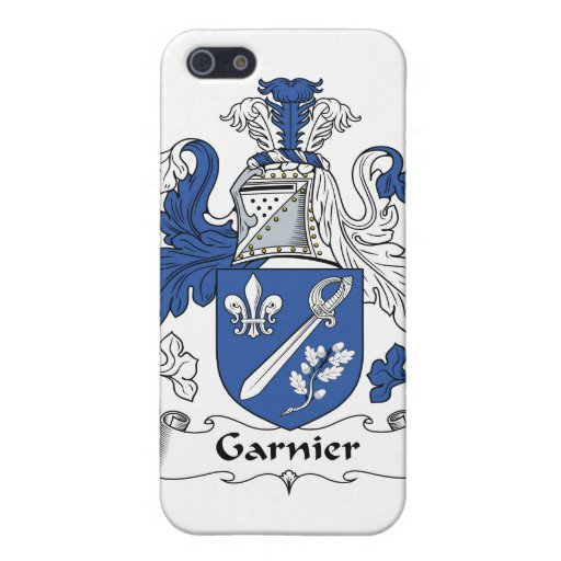 Garnier Family Crest iPhone 5 Cases