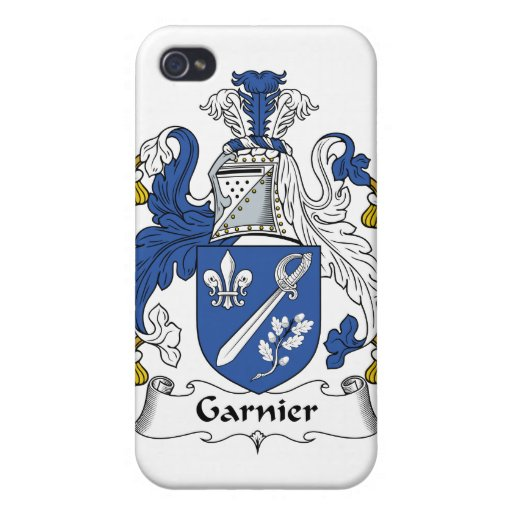 Garnier Family Crest Cover For iPhone 4