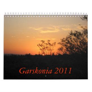 Garskonia 2011 wall calendars