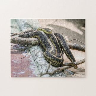 Garter Snake Jigsaw Puzzle