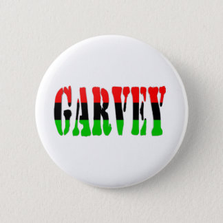 Garvey Pan-African Flag 6 Cm Round Badge