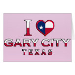 Gary City, Texas Greeting Cards