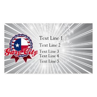 Gary City TX Business Card Template
