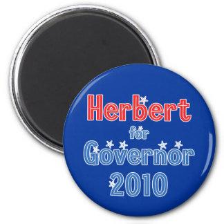Gary Herbert for Governor 2010 Star Design 6 Cm Round Magnet