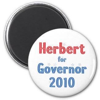 Gary Herbert for Governor 2010 Star Design Fridge Magnet
