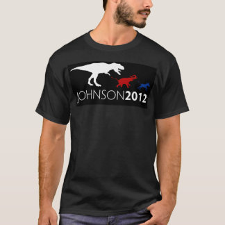 Gary Johnson 2012 Black Tee
