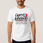Gary Johnson 2012 shirt
