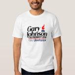 GARY JOHNSON 2012 shirt! Tees