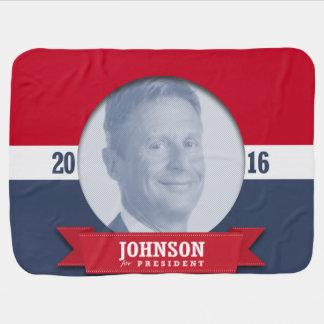 GARY JOHNSON 2016 BABY BLANKETS