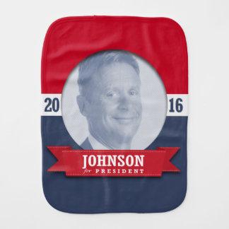 GARY JOHNSON 2016 BABY BURP CLOTH