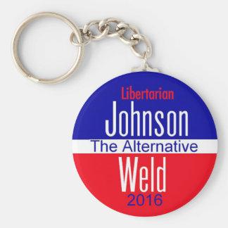 Gary JOHNSON 2016 Keychain