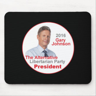 Gary JOHNSON 2016 Mouse Mat