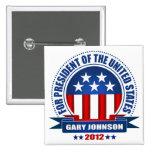 Gary Johnson Badge