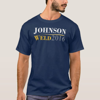 Gary Johnson - Bill Weld 2016 Campaign Logo T-Shirt