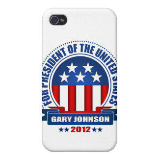 Gary Johnson Covers For iPhone 4