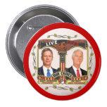 Gary Johnson / Jim Grey in 2012 7.5 Cm Round Badge