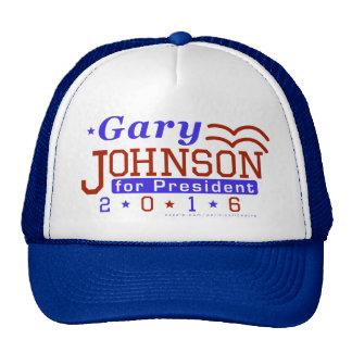Gary Johnson President 2016 Election Libertarian Cap