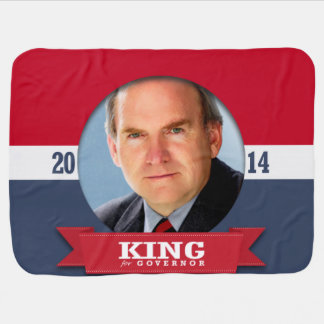 GARY KING CAMPAIGN RECEIVING BLANKET