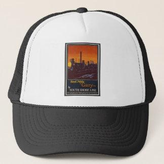 Gary Steelworks IN Poster Trucker Hat