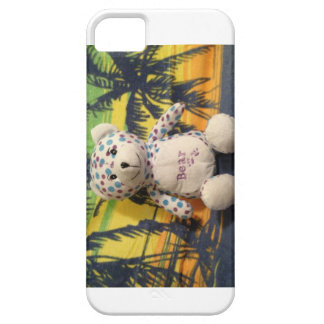 Gary the beary in Hawaii iphone 5  case Barely There iPhone 5 Case