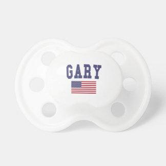 Gary US Flag Pacifier