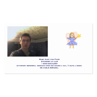 Gary's Business Card