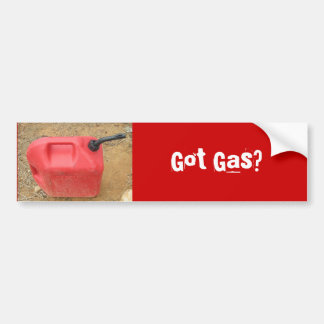 Gas Bumper Sticker