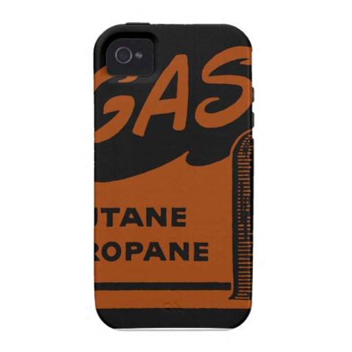 Gas Butane Propane Vibe iPhone 4 Cases