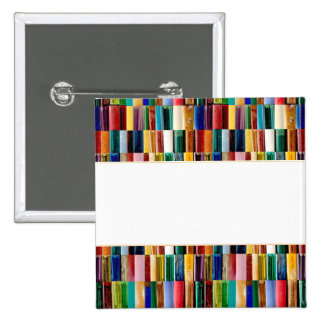 Gas Lighter Shells Creative Abstract Art Collage 15 Cm Square Badge