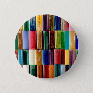 Gas Lighter Shells Creative Abstract Art Collage 6 Cm Round Badge