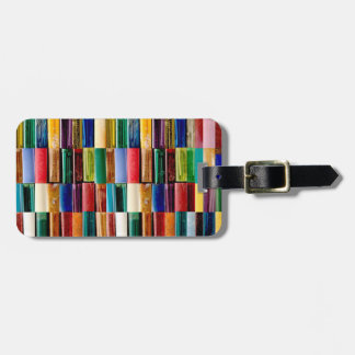 Gas Lighter Shells Creative Abstract Art Collage Luggage Tag